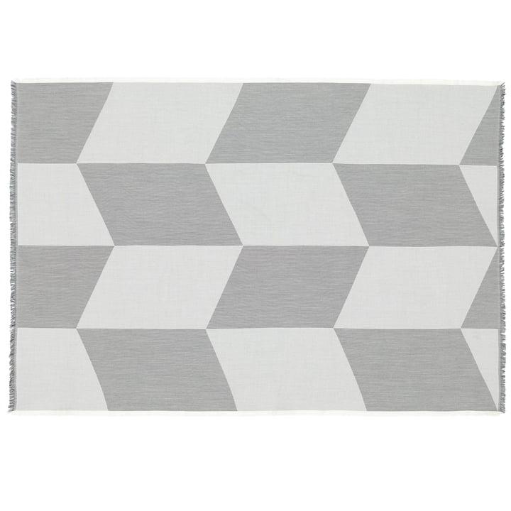 Sway tæppe af Muuto i sort / hvid