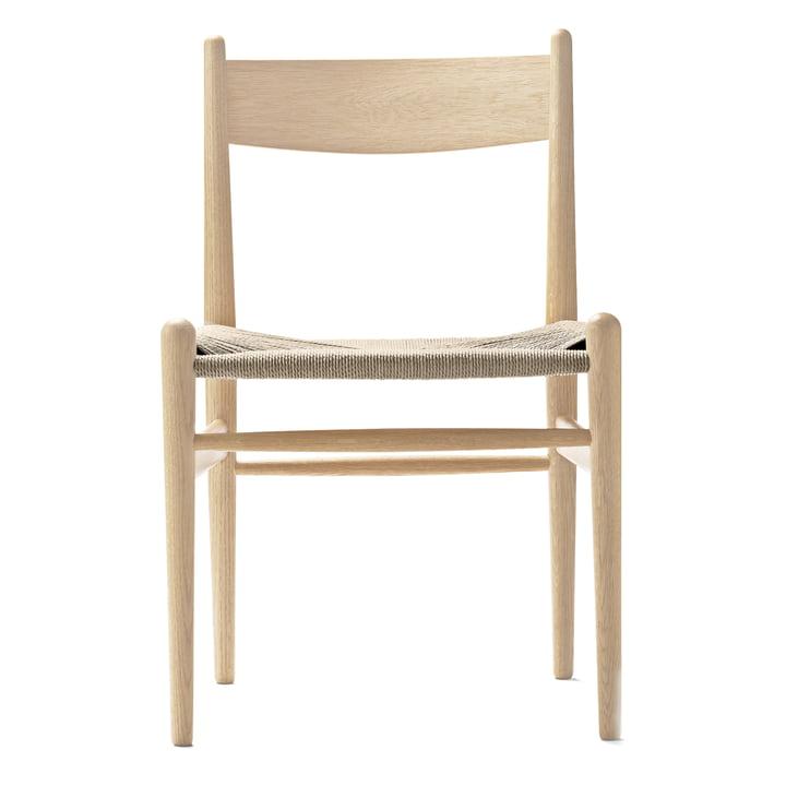 Carl Hansen – CH36 stol, ludbehandlet eg/vævet naturpapirgarn