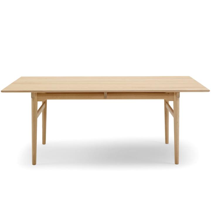 Carl Hansen – CH327 spisebordet med udtræk, 190 x 95 cm, ludbehandlet eg