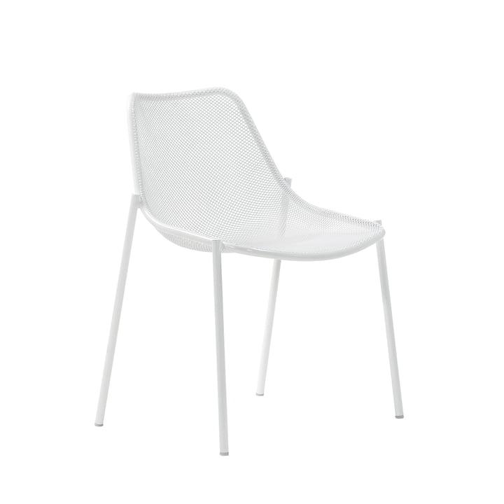 Emu - Round stol, hvid