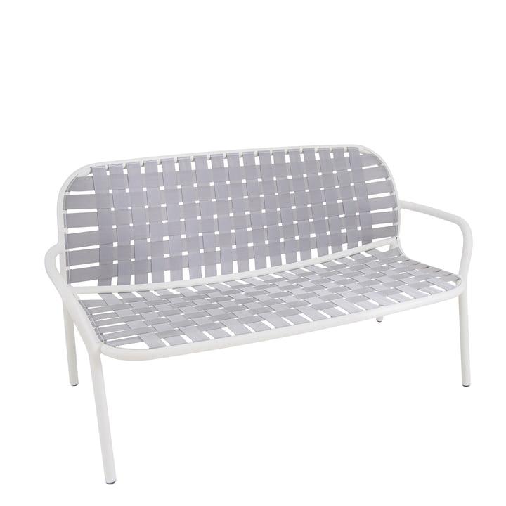 Yard lounge sofa af Emu i hvid / grå