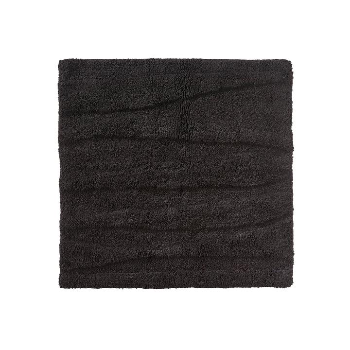 Zone Denmark – Flow bademåtte, 65 x 65 cm, sort