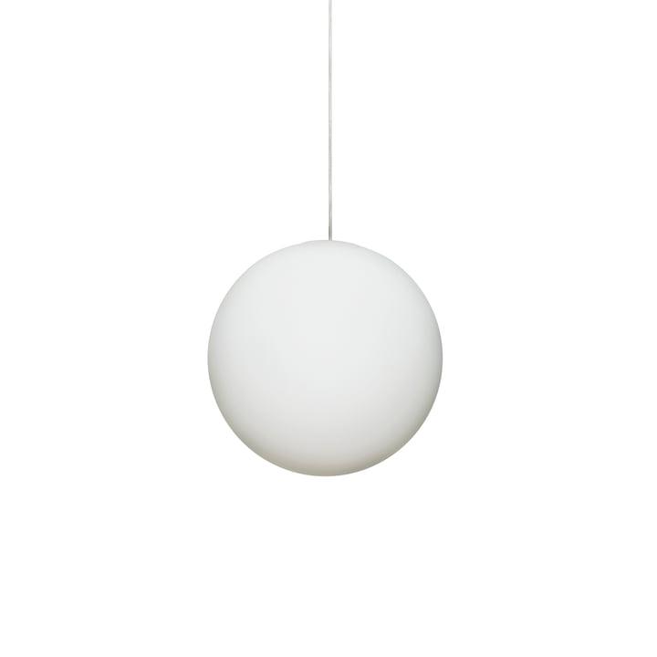Luna pendel Ø 16 cm fra Design House Stockholm i hvid