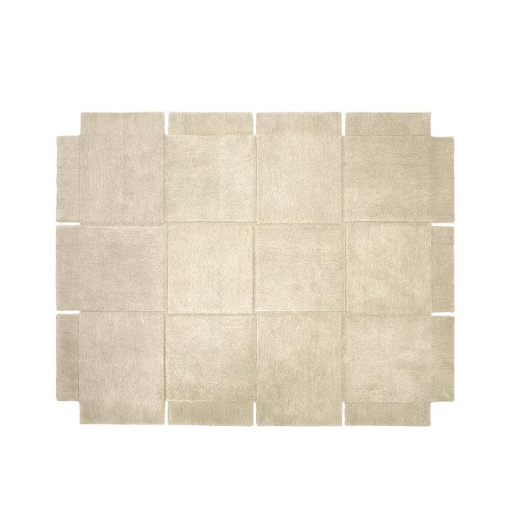 Design House Stockholm – Basket tæppe 185 × 240 cm i beige