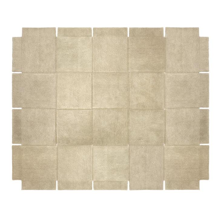 Design House Stockholm – Basket tæppe 245 × 300 cm i beige