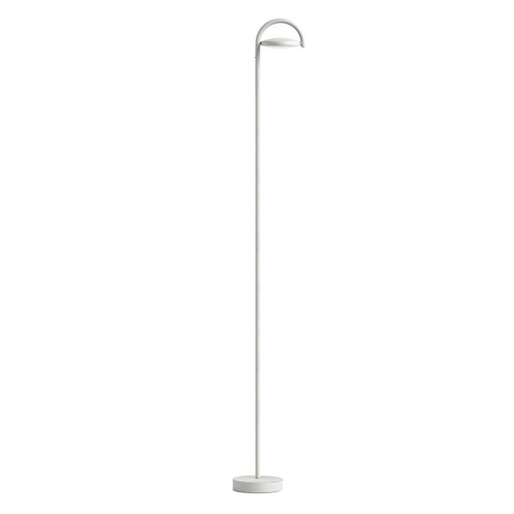 Marselis LED-gulvlampe, lysegrå (RAL 7035)