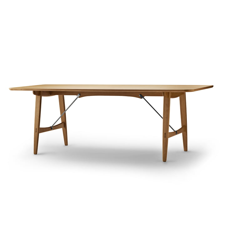 Carl Hansen - BM1160 Jagt spisebord, 210 x 82 cm, olieret eg