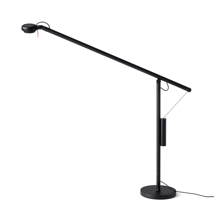 Hay – Fifty-Fifty LED-bordlampe, signalsort (RAL 9004)