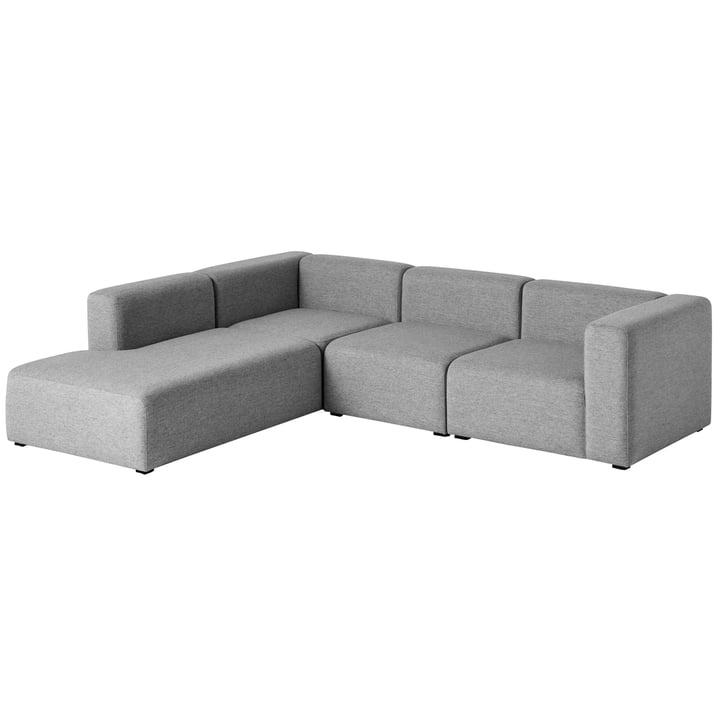 Hay – Mags sofa, hjørnekombination 2, venstre/grå (Hallingdal 116)