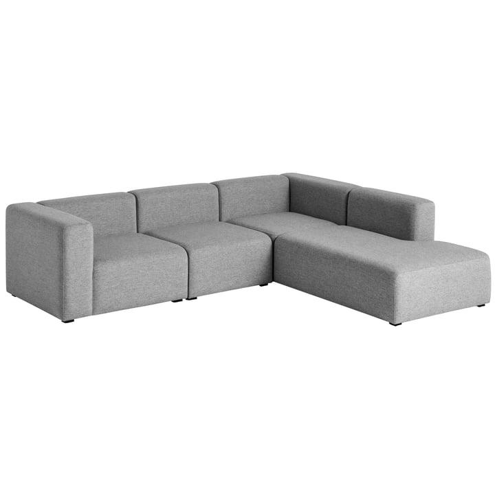 Hay – Mags sofa, hjørnekombination 2, højre/grå (Hallingdal 116)