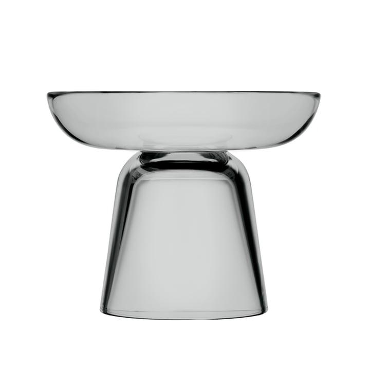 Iittala - Nappula glasstearinlys 107 mm, grå