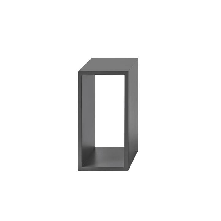 Den Muuto - Stacked hylde modul 2. 0 uden bagpanel i små / grå