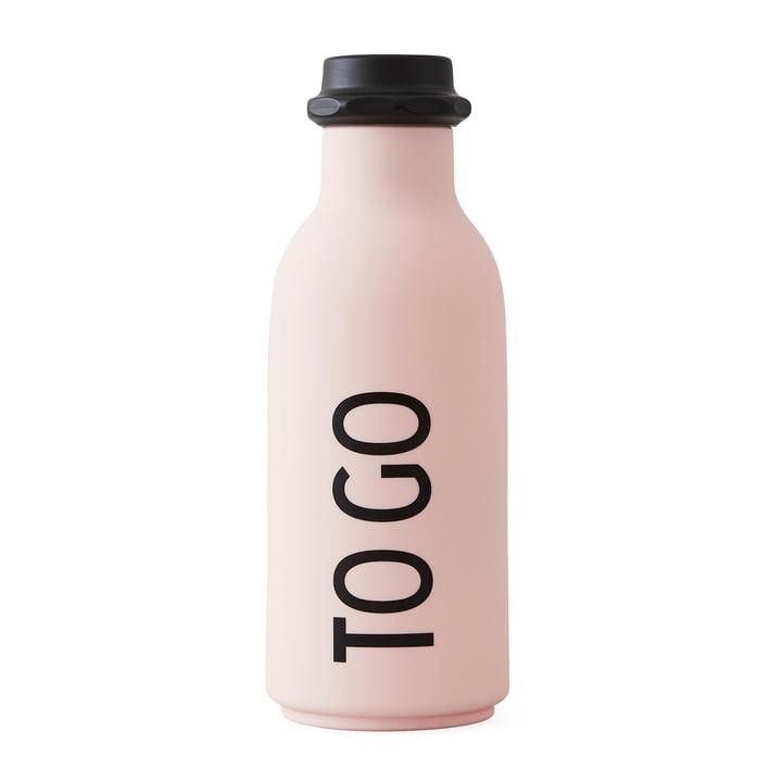 Design Letters – To go flaske i pink