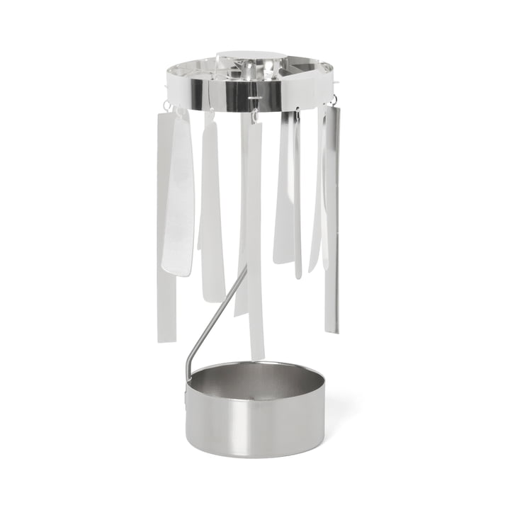ferm Living - Tangle Spinning fyrfadsstage, sølv