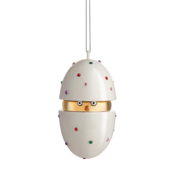 Alessi - Faberjori julekugle Briks Piacere, Pulcino il Grande (MJ16 1)