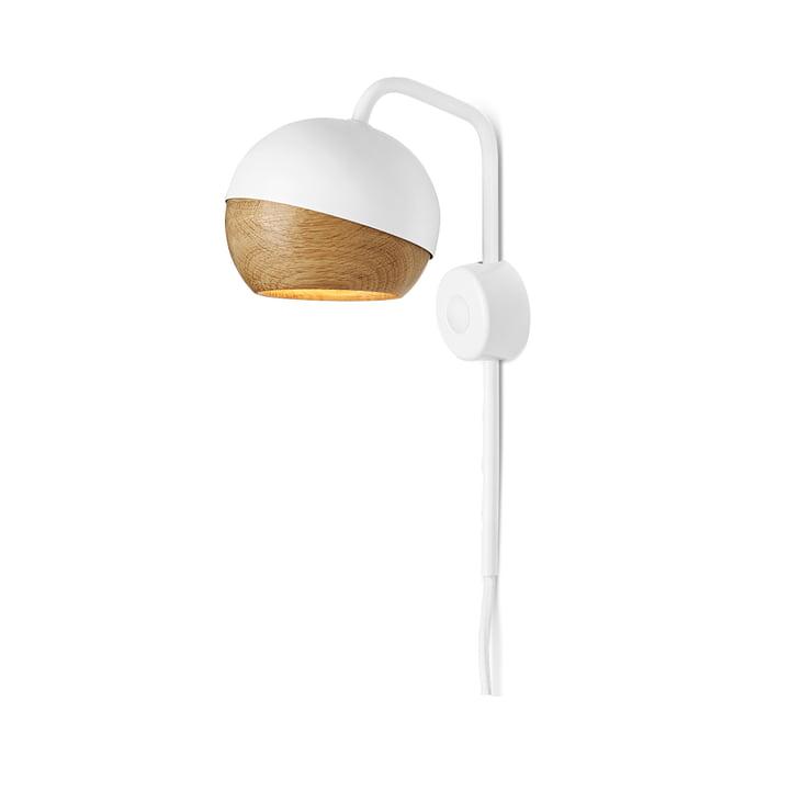 Mater - Ray væglampe, hvid
