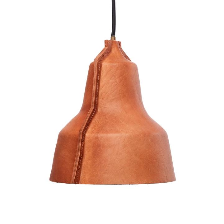 Lloyd pendellampe fra Puik - Ø 24 x H 25 cm i brunt læder