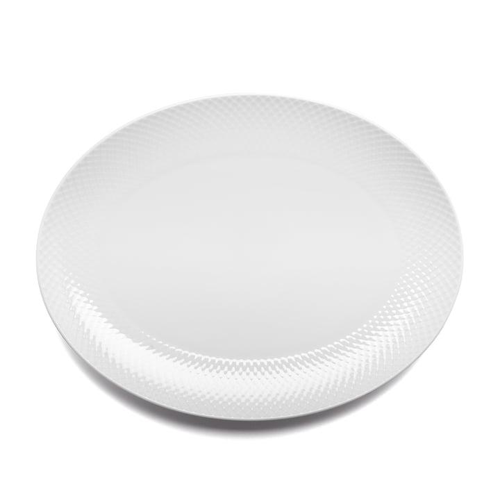 Rhombe i hvidt fra Lyngby Porcelæn