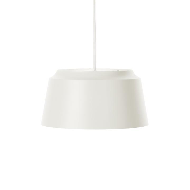 Groove pendellampe fra Puik, Ø 26 x H 13 cm i hvid