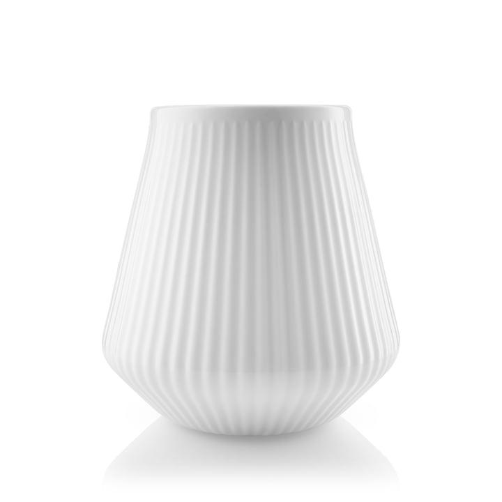 Legio Nova-vase lille, H 15,5 cm i hvid af Eva Trio