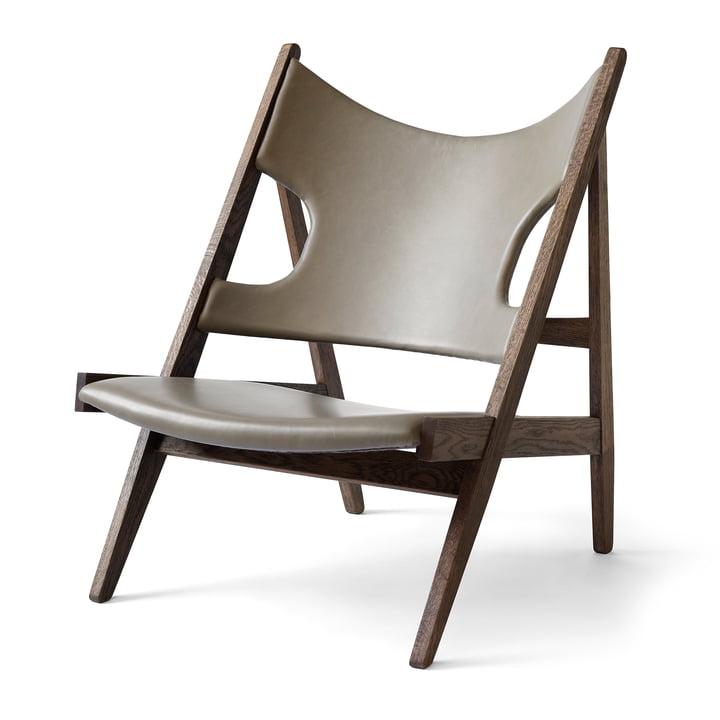 Knitting Chair fra Menu i mørkbejdset eg / sand