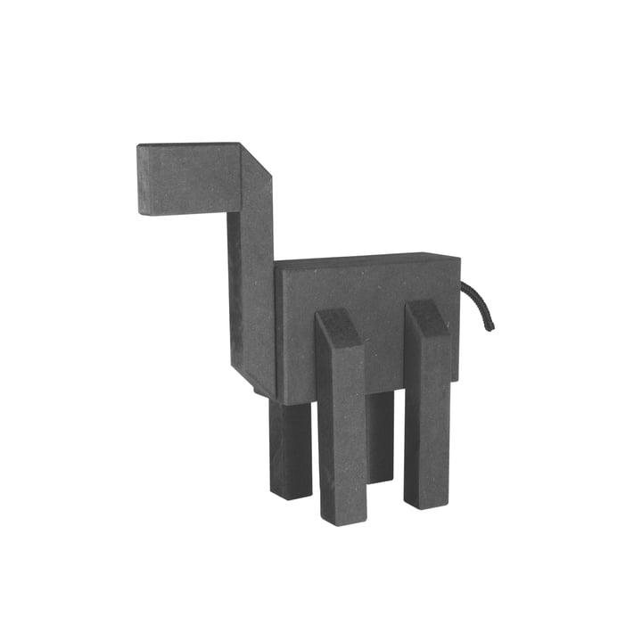 Connox Collection - Kubi træfigur, 20 cm / sort