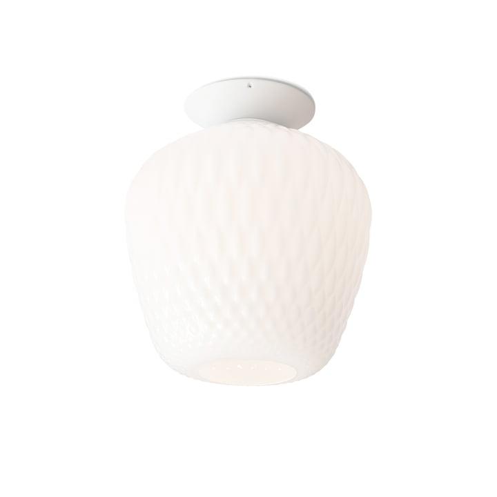 Blown loftlampe SW5 af & tradition - Ø 28 x H 34 cm, opal / hvid