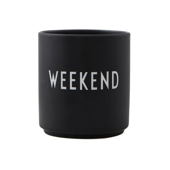 AJ Favourite porcelæn kop Weekend fra Design Letters