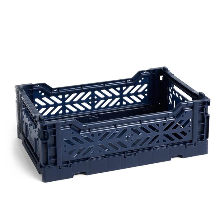 Colour Crate Basket S, 26,5 x 17 cm fra Hay i marineblå