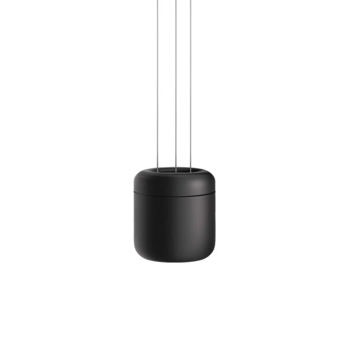 Cavity LED pendelarmatur S af serien. Belysning i sort