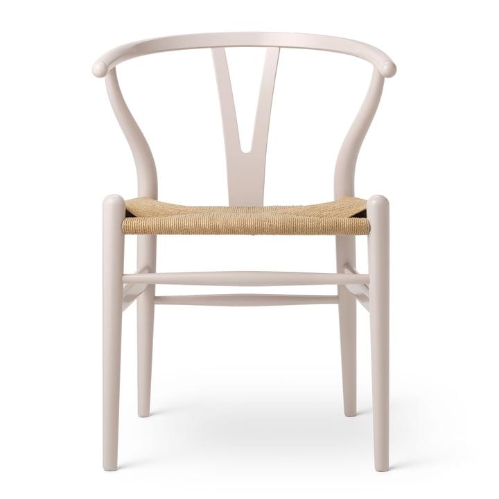 CH24 Wishbone Chair af Carl Hansen i Beech Rosy Blush / Natural Wickerwork (Fødselsdag Edition)