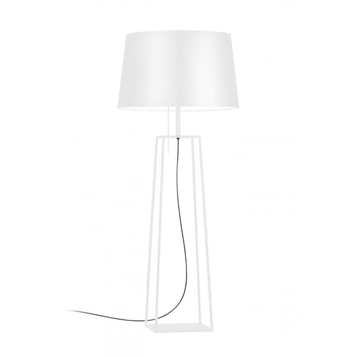 Tiffany 1 gulvlampe fra Carpyen i hvid