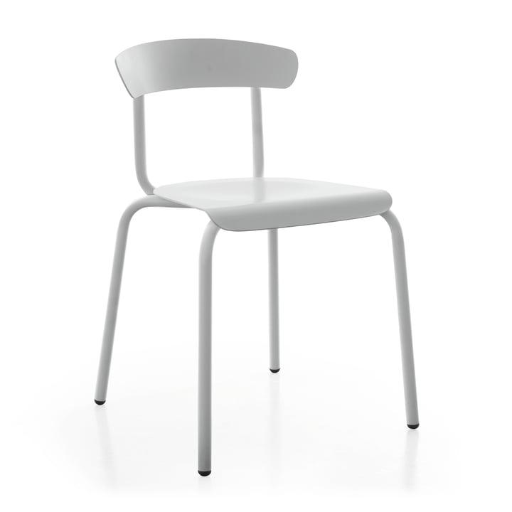 Alu Mito udendørs stol i lysegrå af Conmoto