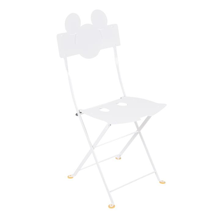 Mickey Mouse Bistrostol fra Fermob i hvid bomuld