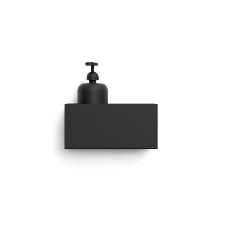 Nichba Design - væghylde, L 20 cm / sort