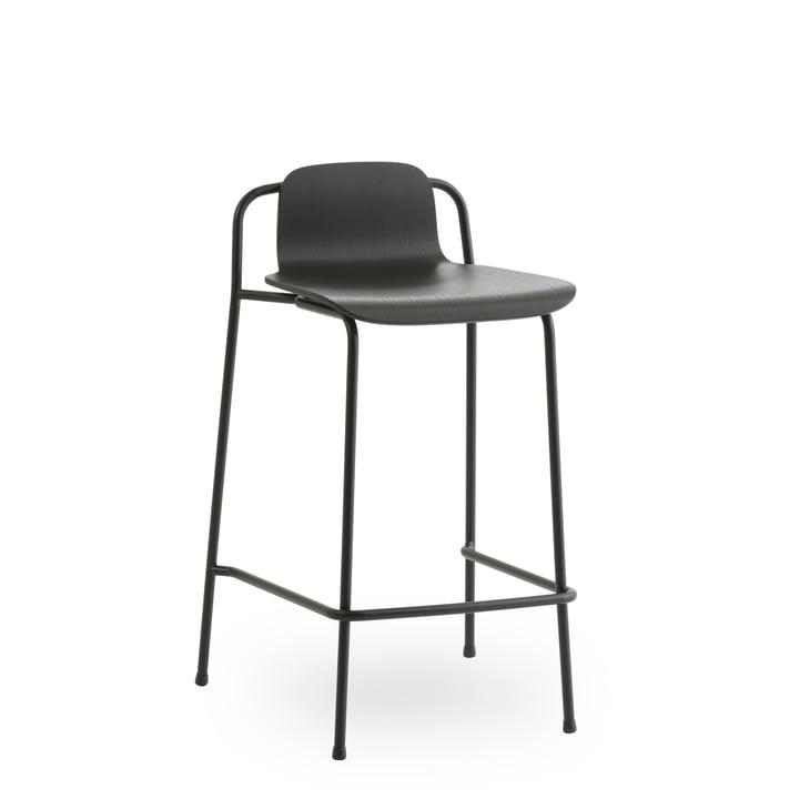 Studiobarkrakkelse 65 cm af Normann Copenhagen i sort / sort