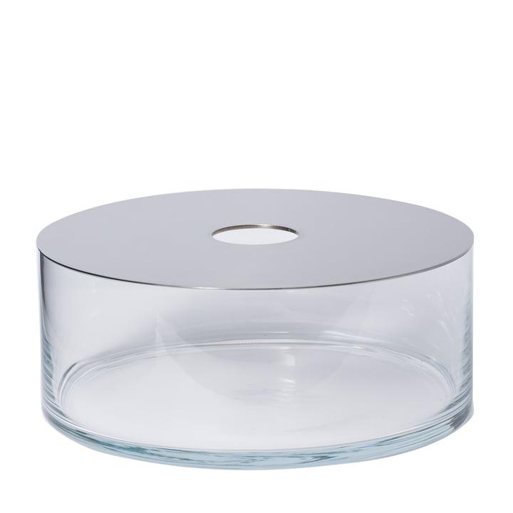 Narciso Vase Pattio i gennemsigtig med spejl af Petite Friture