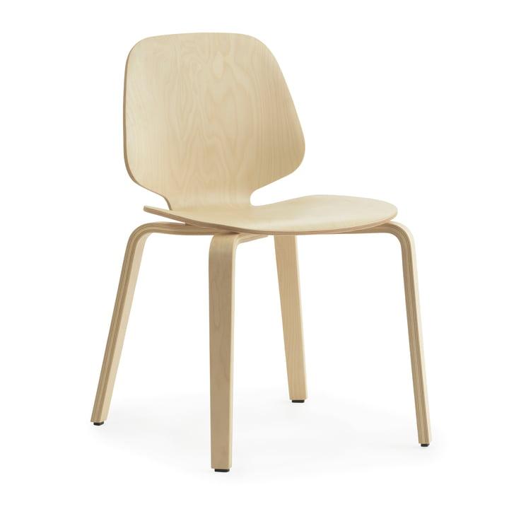 Min stol af Normann Copenhagen i bjørk