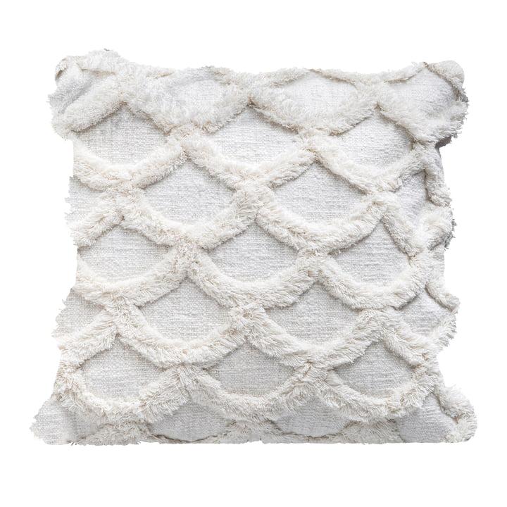 Samling pude af Bloomingville, L 45 x W 45 cm i hvid