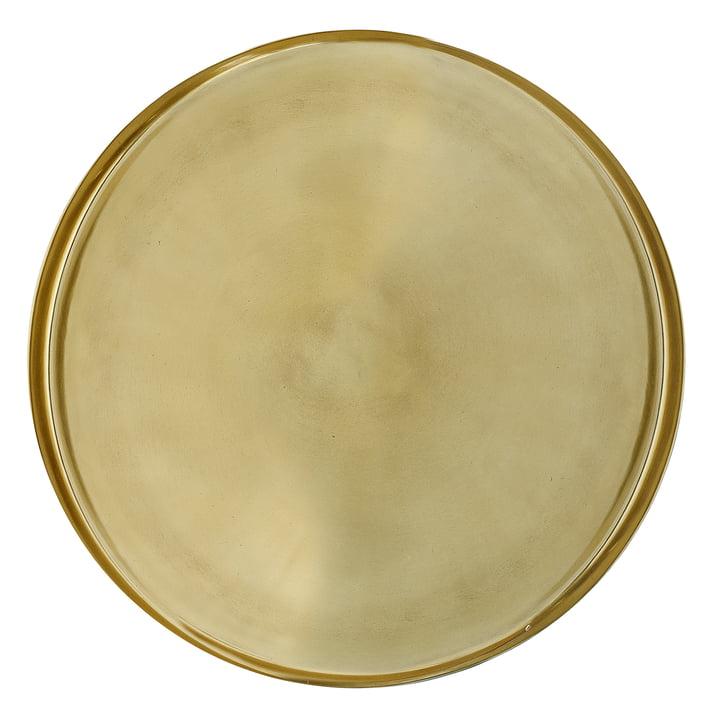 Bakke af Bloomingville, Ø 50 x H 2,5 cm i guld