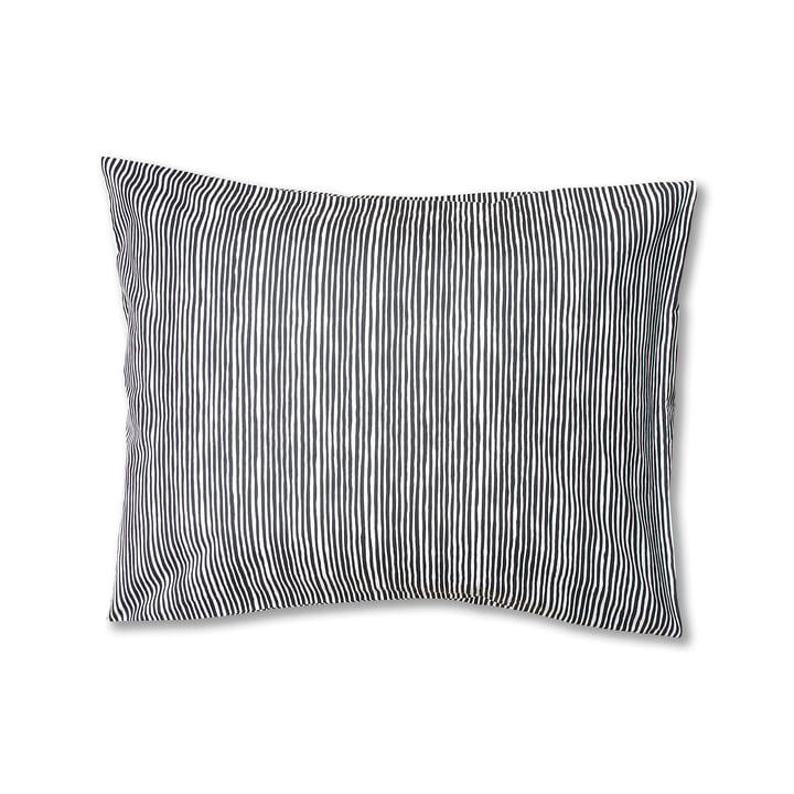 Varvunraita Pudebetræk af Marimekko, 50 x 60 cm i sort / hvid