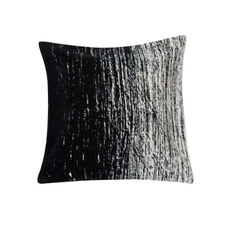 Kuiskaus Pudebetræk, 50 x 50 cm i sort / hvid af Marimekko