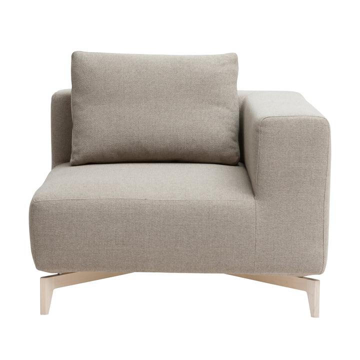 Passionsmoduløs sofa, hjørneelement, Ask / Vision beige (446) af Softline