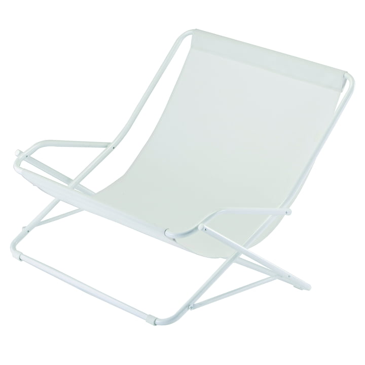 Dondolina twin swing lænestol i hvid af Fiam