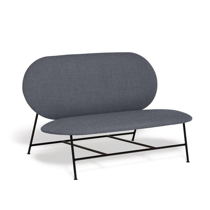 Oblong sofa af nord i sort / grå (Brusvik 05)