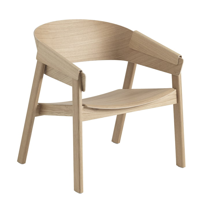 Cover Lounge Chair i eg af Muuto