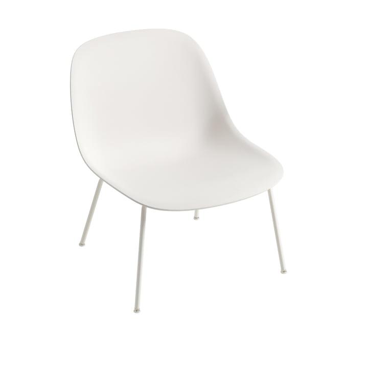 Fiber Lounge Chair Base i hvid af Muuto
