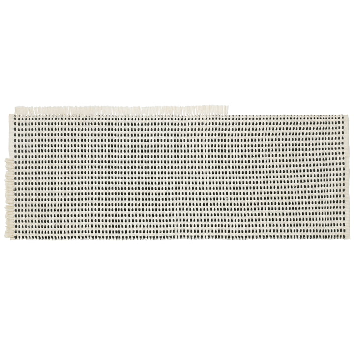 Way Outdoor Runner 180 x 70 cm ved ferm Living in off-white / blue