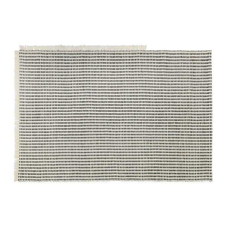 Vejs udendørs tæppe, 140 x 200 cm i off-white / blå af ferm Living