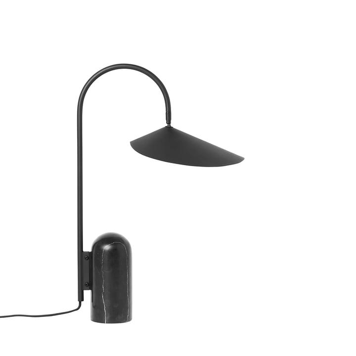 Arum bordlampe i sort med ferm Living